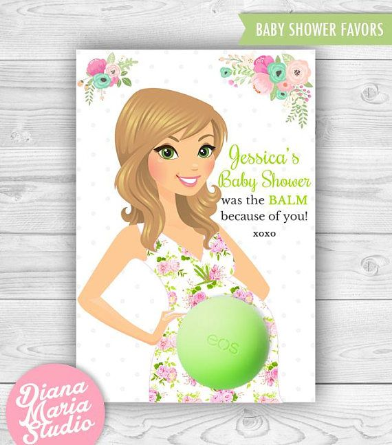 49 best Baby Shower Favors with Eos Lip Balm images on ...