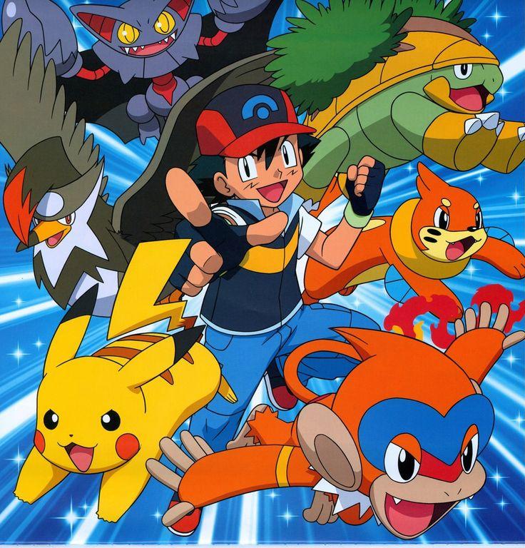 Ash Ketchum & His Pokemon #Pokemon #PokemonAnime #Anime ...