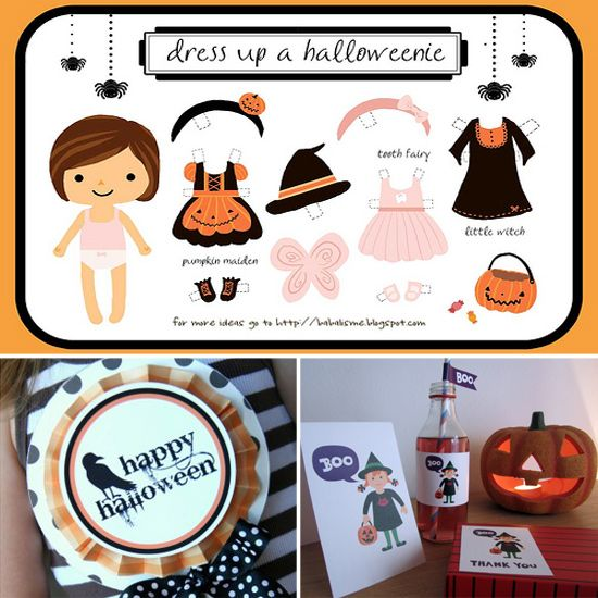 free halloween printable decor and activities for kids - Free Halloween Activities For Kids