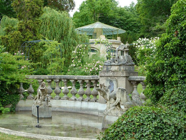 Garden at the Musee de l'Ecole de Nancy