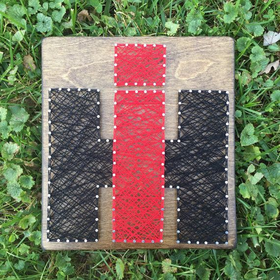 Symbol or Icon string art board International by SeasonOfSeeking
