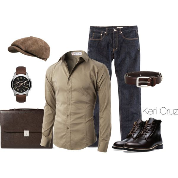 A fashion look from December 2014 featuring Stetson hats. Browse and shop related looks.