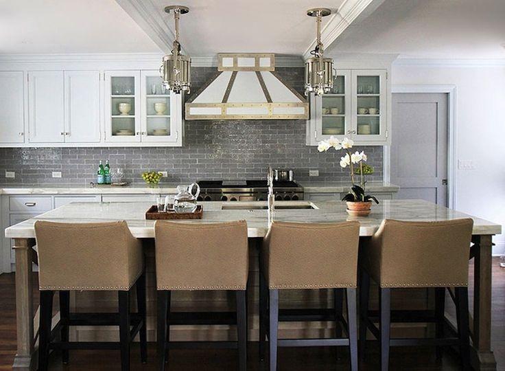 Andrew Howard Interior Design   Kitchens   Ralph Lauren Home Montauk Small  Pendant, Montauk Pendants, Montauk Small Pendants, Kitchen Island. Part 19