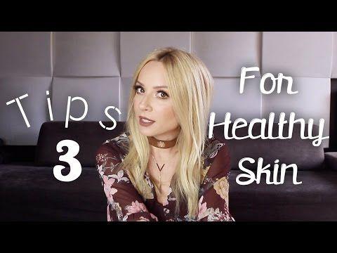 Tips για Τέλειο, Υγιές & Λαμπερό Δέρμα | gina - YouTube