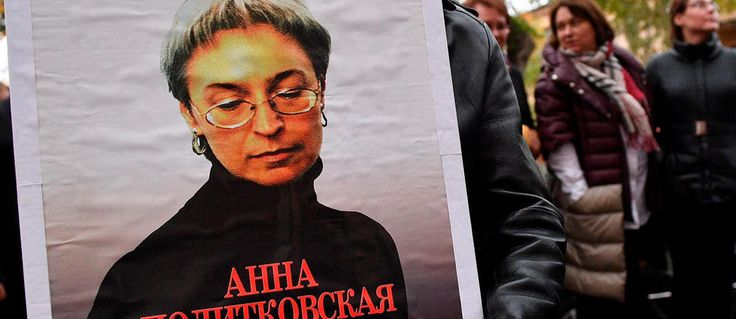 Russie hommage à Anna Politkovskaïa tuée il y a 10 ans - Le Point