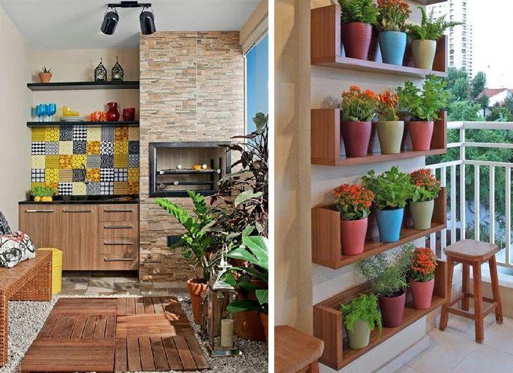 varanda pequena de apartamento decorada - Google Search