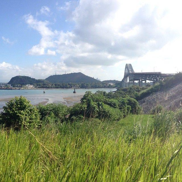 Road trip  #nature #NoFilter #sky #landscape #bridge