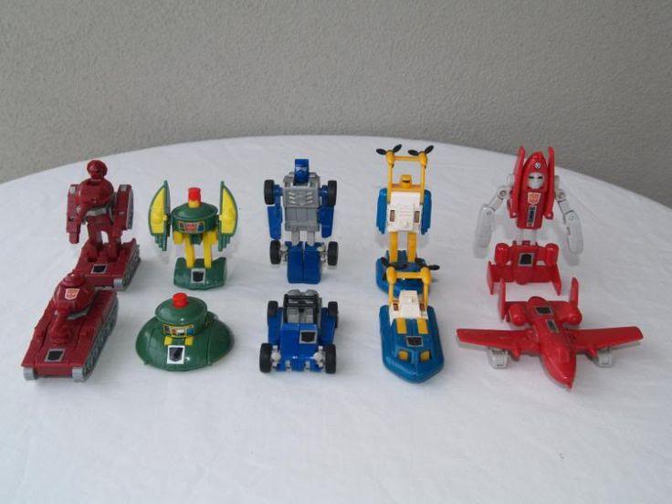 Transformers G1 1985 Mini Vehicles