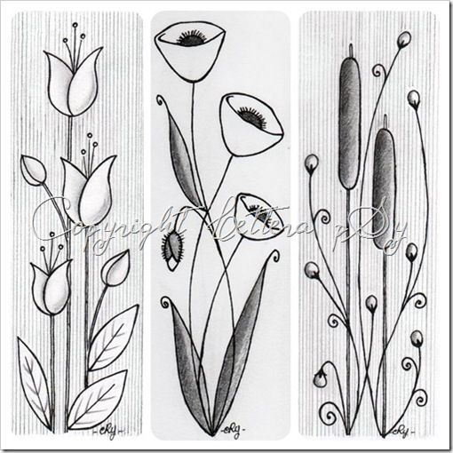 good shapes for flowers