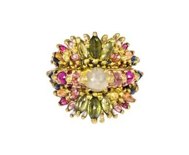 Polly Wales - La Divine Triple Stack Ring in Designers Polly Wales Rings at TWISTonline