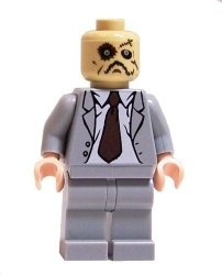 Scarecrow LEGO Minifigure from Batman Begins. Available on http://www.minibigs.com/ for $18