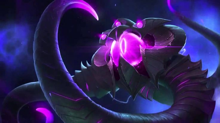 Vel'Koz League Of Legends Login Screen With Music(+재생목록)