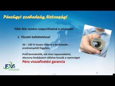 Prezentáció – Megoldás pénzügyekre