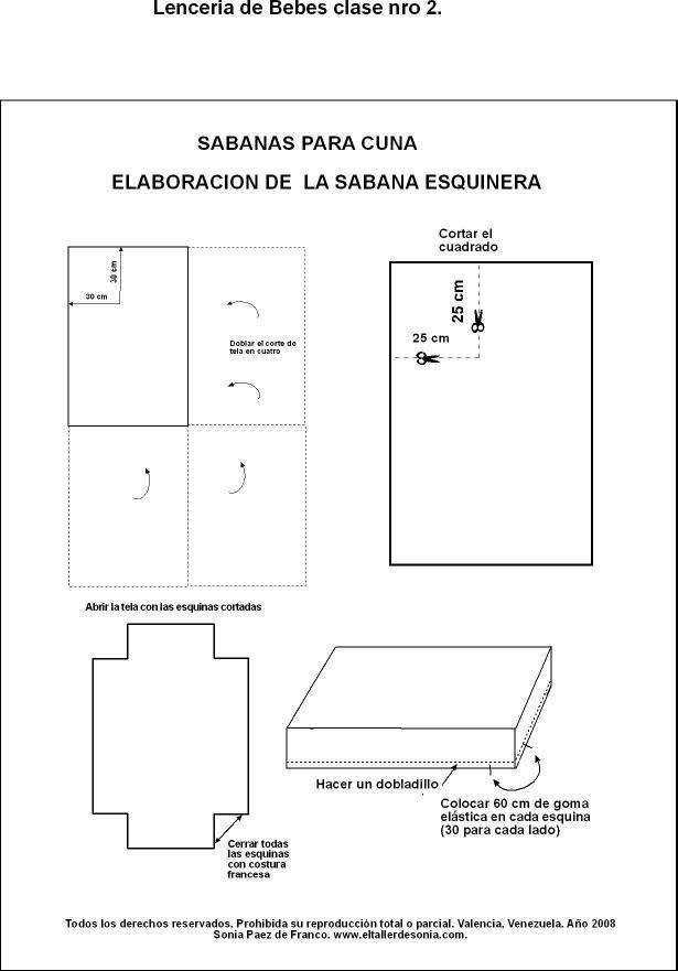 sabanas para cuna / sabana esquinera El Taller de Sonia 1607025_10152072875328280_1967744607_n.jpg (615×881)