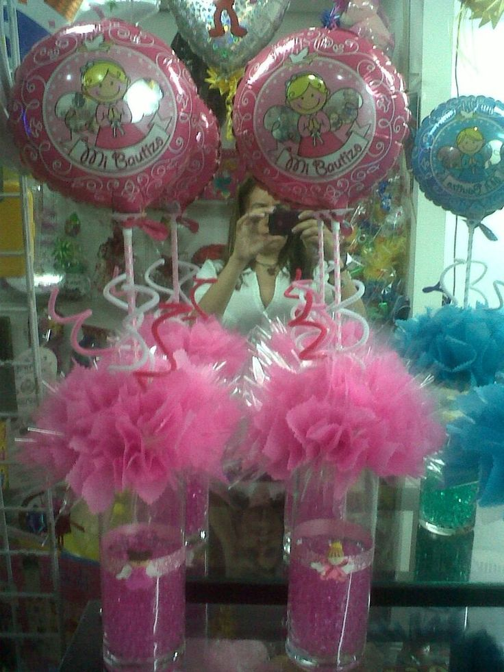 Decoracion con globos para baby shower ni o buscar con - Decoracion de baby shower nina ...