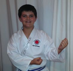 Kieran Stadler has been selected to represent the Western Cape at the South African JKA Karate Championships to be held in Johannesburg on 23 and 24 May.