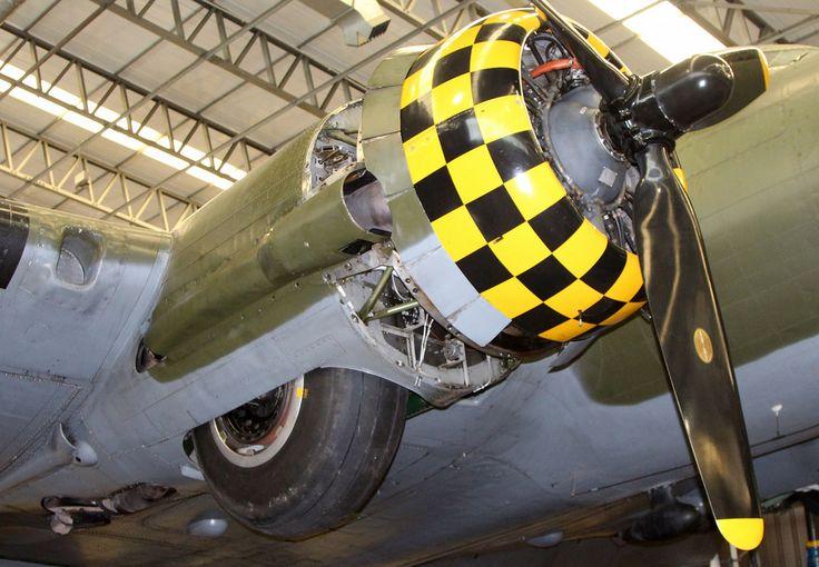Boeing B-17G, Duxford 1-3-15