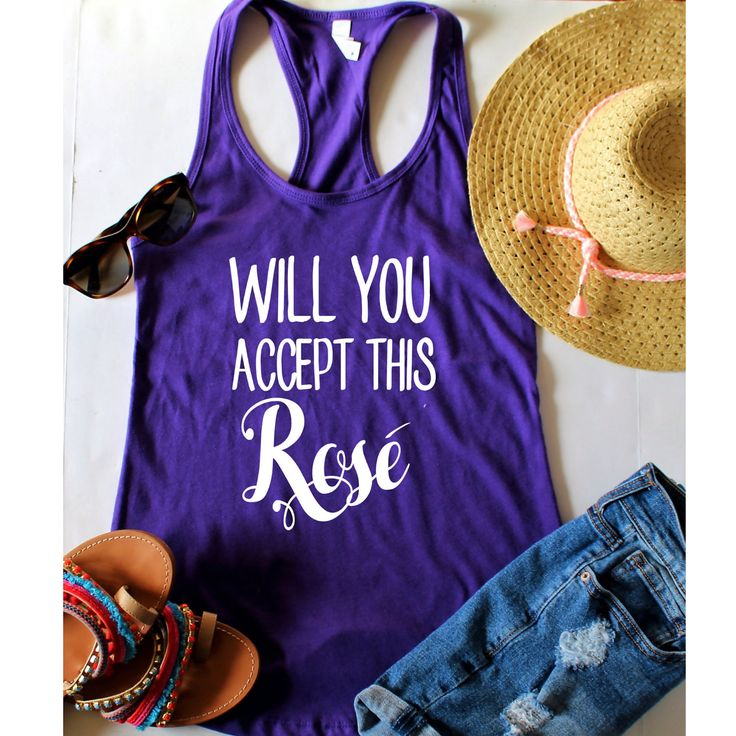 Will you accept this rose fitted racerback tank top, XS-2XL, The Bachelor, The Bachelor TV Show, Will You accept this rose, Monday Night TV by ShopatBash on Etsy