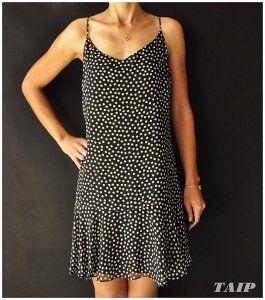 F F Czarna Sukienka W Groszki 44 6433363080 Oficjalne Archiwum Allegro Fashion Dresses Sleeveless Dress