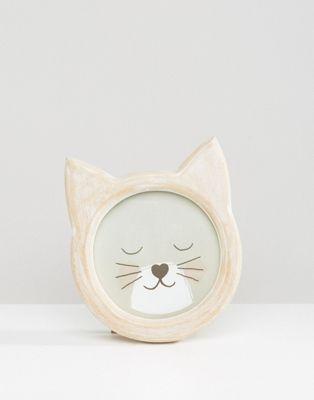 Cute Kitten Photo Frame $12.50 Useful gift for her, cat lovers, family & friends.