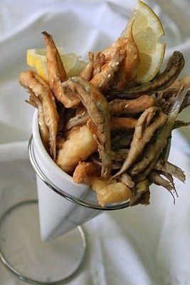 Delicious fried fish Delicious pescaito frito