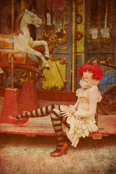 French burlesque performer