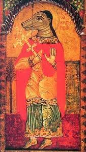 St. Christopher (A case of cynocephaly + mistranslation!)