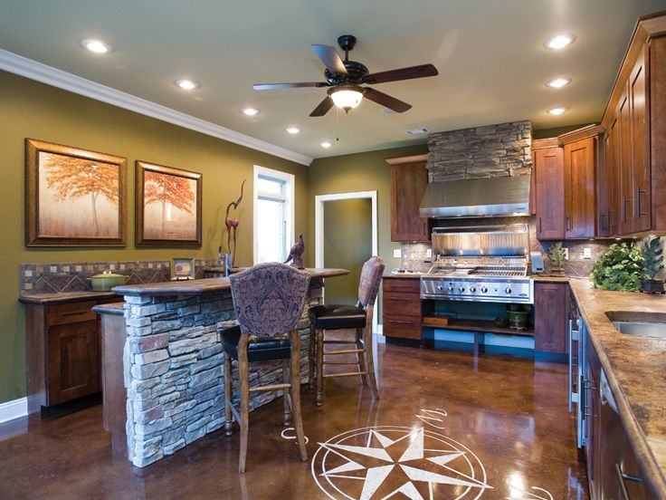 Best Home Plans With Entertainment Spaces Images On Pinterest