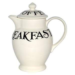 Emma Bridgewater Black Toast Coffee Pot at Cookshop Brigg