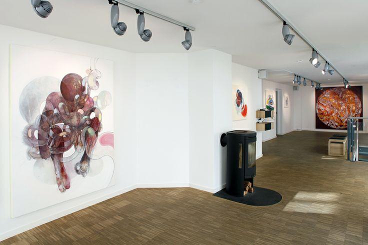 "Peter Max-Jakobsen ""CABLUS 9"" & Sol Kjøk ""Push"" in the Oxholm Gallery"