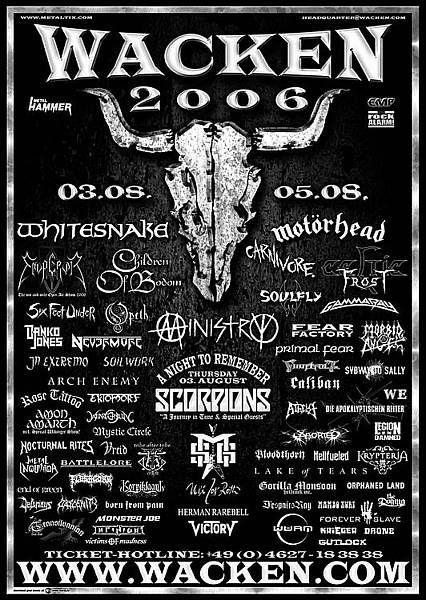 Wacken Festival.  All Metal