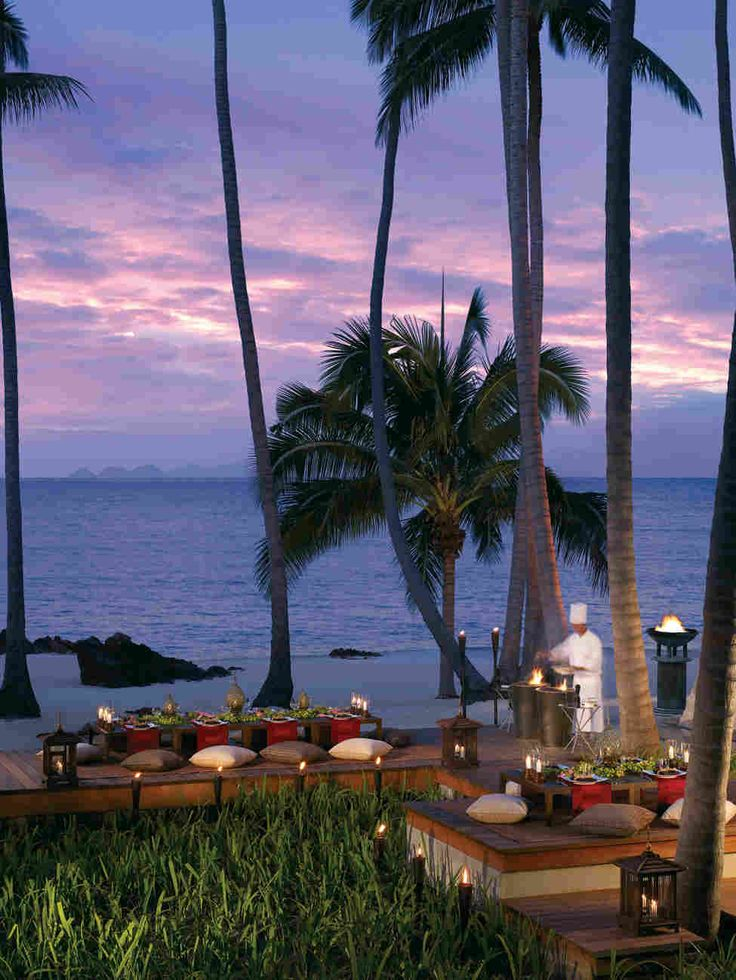 Отель Four Seasons на острове Самуи, Тайланд
