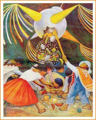 Beautiful Los Posadas Illustration