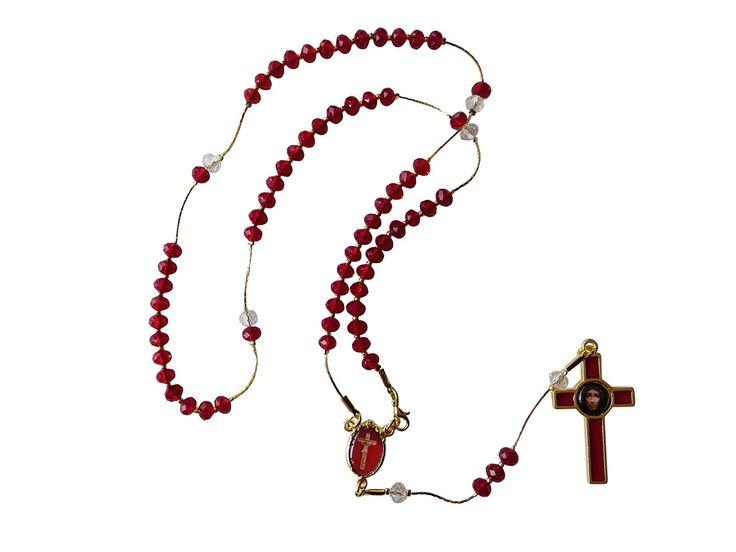 Fancy Precious Blood of Christ Rosary Rosario De La Preciosa Sangre De Cristo * Learn more by visiting the image link.