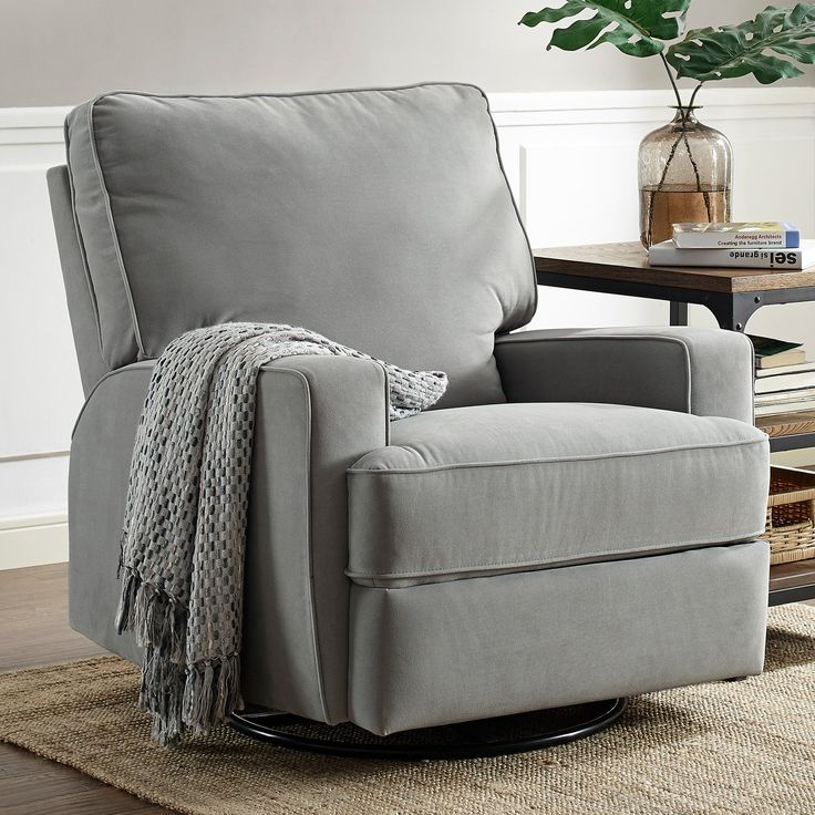 Baby Relax Rylan Swivel Gliding Recliner | from hayneedle.com