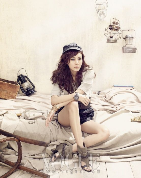 Kim Ha Neul in Vogue Korea July 2011