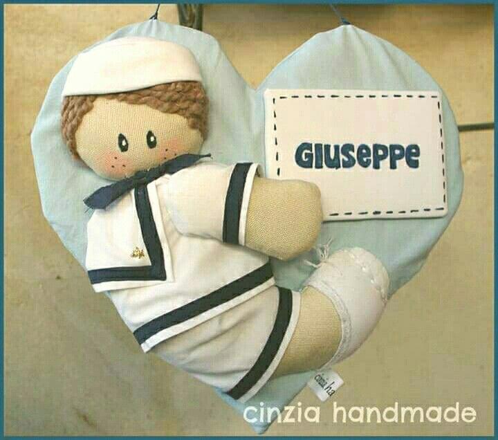 Fiocco nascita Giuseppe