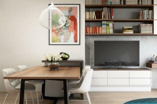 Simple Bookshelf & Tv Unit