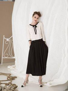 burda style: Damen - Röcke - Faltenröcke - Faltenrock - Midi-Länge