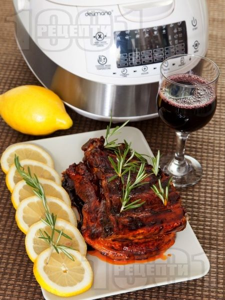 Свински ребра с барбекю сос в Делимано Мултикукър 50 в 1  #multicooker #delimano #делимано #мултикукър #рецепта #recipe