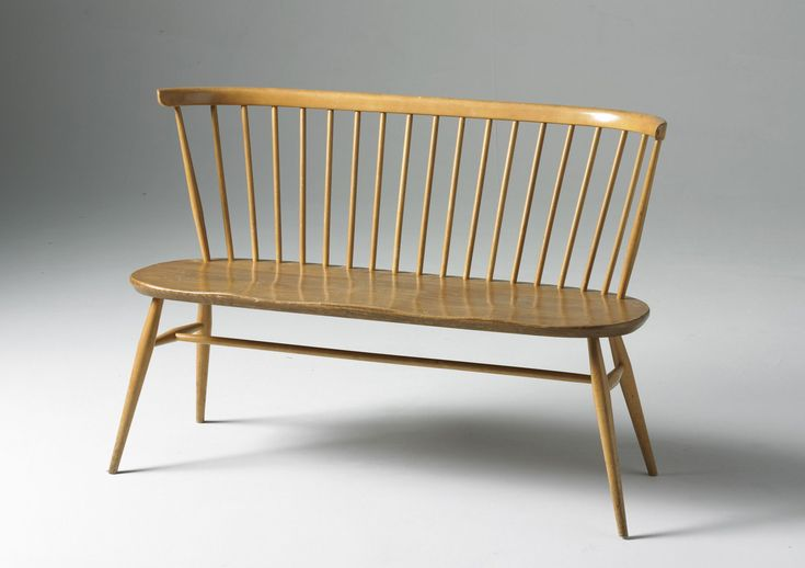 Banc avec dossier Love Seat / L 117 cm - Réédition 1955