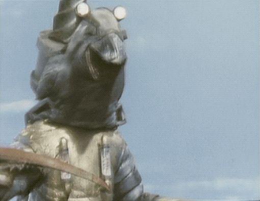 my gif Terror-Beast Mogranda zone fighter gif gifs kaiju tokusatsu Terrifying Attack! The Garoga Robot 1973 1970s vintage television vintage television gifset   citystompers1.tumblr.com