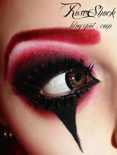 Maquillages, Revue, Diable Maquillage Oeil De Halloween, Yeux Halloween, Maquillage Cosplay Halloween, Clowns Halloween, Idées De Halloween, Costume, Yeux
