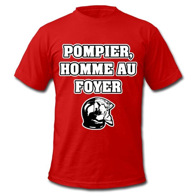 POMPIER, HOMME AU FOYER , T-shirt à s'offrir ici : https://shop.spreadshirt.fr/jeux-de-mots-francois-ville/les+t-shirts+pour+pompiers?q=T516877  #pompiers #leshommesdufeu #tshirt #sirène #alarme #feu #flammes #incendie #foyer #échelle #lance #rampe #sapeur #casque #caserne #secours #ambulancier #brancardier #volontaire #bénévole #braise #bouche #JEUXDEMOTS #FRANCOISVILLE #HUMOUR #DRÔLE #CITATION