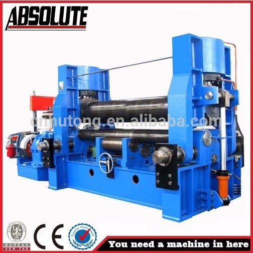 2015 New 4-Roller plate rolling bending machine