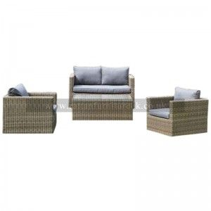Royalcraft - Wentworth 4 Piece Sofa Set with Coffee Table