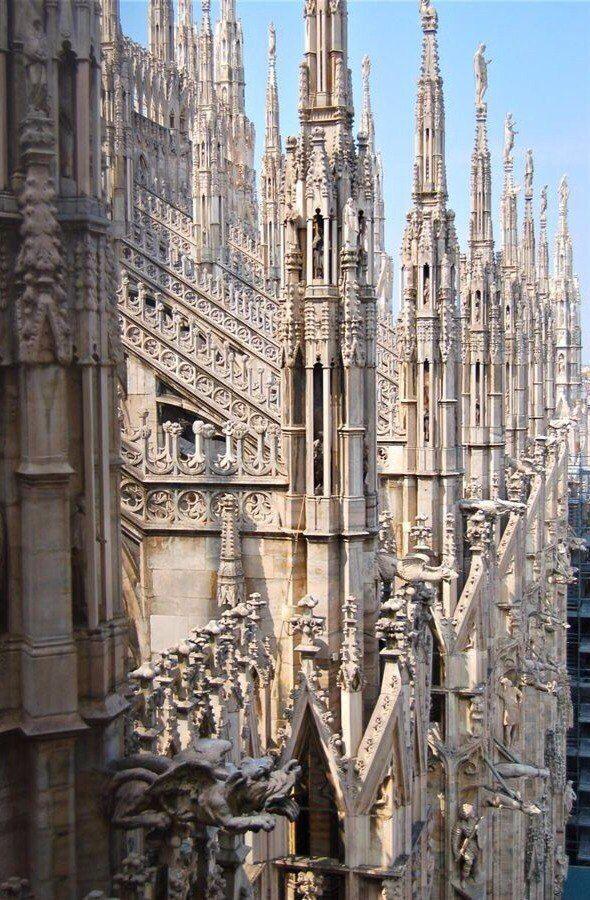 Миланский собор. Италия