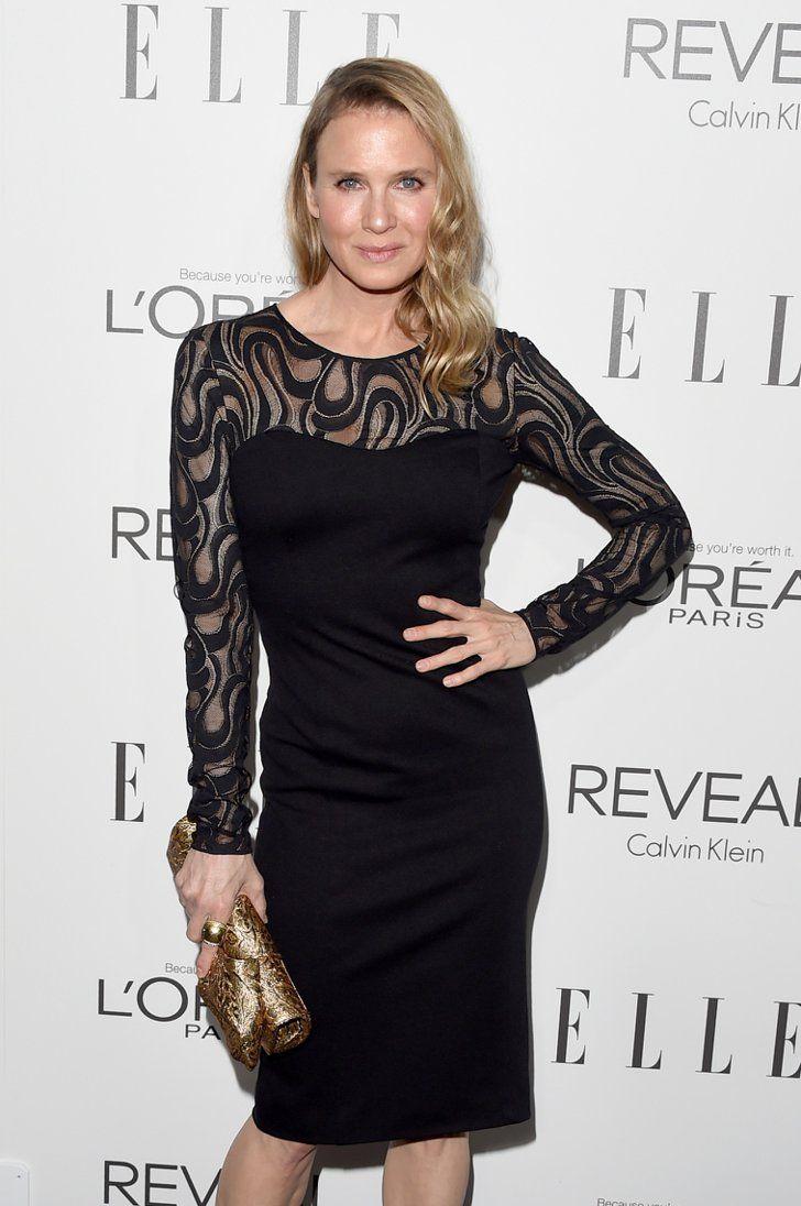 Pin for Later: Hat Renée Zellweger ihr Aussehen verändert? Renée Zellweger im Oktober bei den Elle Women in Hollywood Awards