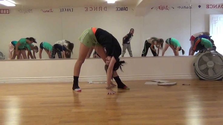 Basic Dance Class Warmup-Stretching and Flexibility