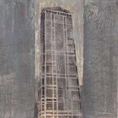 Posterazzi Chicago II Canvas Art - Liz Jardine (24 x 24)